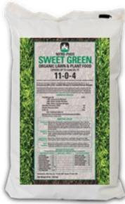 Sweet Green Organic Lawn & Plant Food 11-0-4